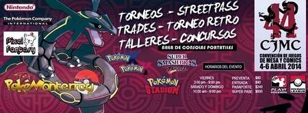 Pokémon invadirá la Convención de Juegos de Mesa y Comics #44 de Monterrey