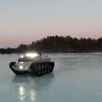 Ripsaw EV2, una tanqueta apocalíptica que puede con todo y más