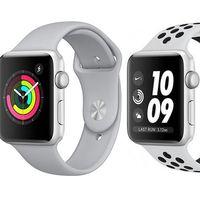 Si quieres un Apple Watch Series 3, tienes 3 modelos de 42 mm en oferta por el 11 del 11 en eBay