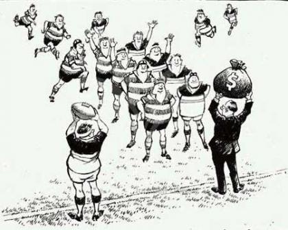 Rugby, el último deporte de caballeros amateurs