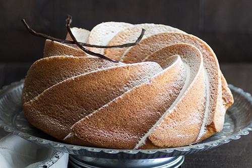 Bundt cake de nata y jengibre: receta