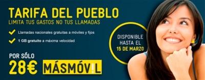 MÁSMÓVIL ya tiene su tarifa ilimitada por 28 euros