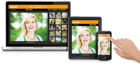 Eye-Fi conectará tu cámara de fotos con el teléfono o tablet
