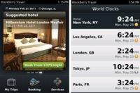 BlackBerry Travel se actualiza con más funciones y países