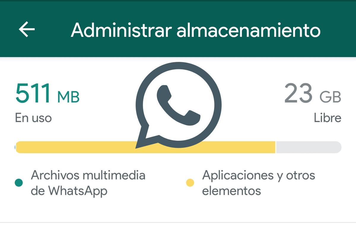 Así puedes liberar espacio en WhatsApp con la nueva herramienta 'Administrar almacenamiento'