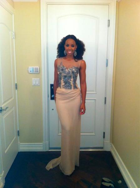 Kelly Rowland en los Grammys 2012