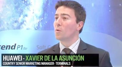 """""""En 2016 queremos estar entre los tres primeros fabricantes de teléfonos móviles"""", entrevista a Xavier de la Asunción de Huawei"""