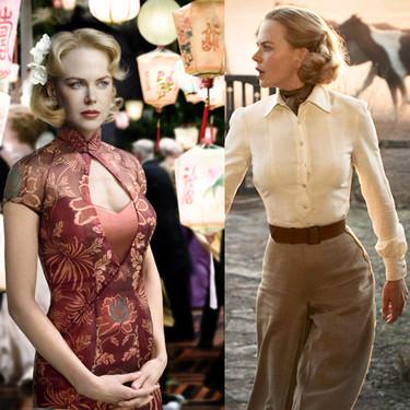 El vestuario de Nicole Kidman en la película Australia
