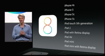 iOS 8 no será compatible con el iPhone 4