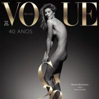 La gran portada de Gisele Bündchen en Vogue Brasil para despedir su trayectoria en las pasarelas