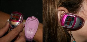 Cronotech BlueVoice, reloj y auricular por Bluetooth