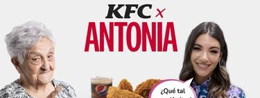 KFC se mofa del Mc Aitana: contraataca con el menú de la abuela Antonia y reclama el a-pollo de Ana Guerra