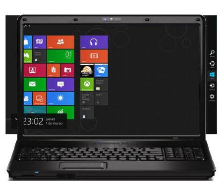 Resolución mínima de Windows 8