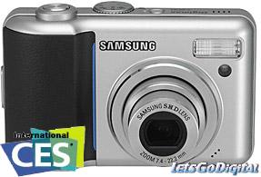 Samsung Digimax S800, simple pero con 8 Megapixels