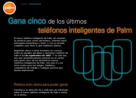 Palm Centro: teléfono inteligente de Palm