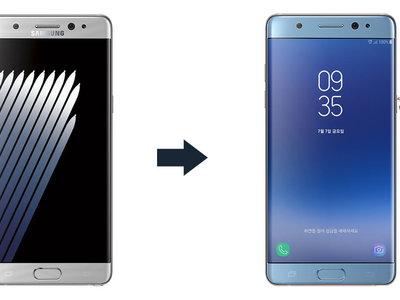 ¿En qué se diferencia el Galaxy Note FE del Galaxy Note7?