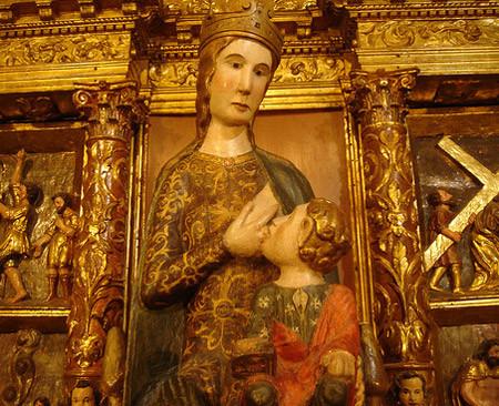 La Virgen María le dio lactancia prolongada al Niño Jesús