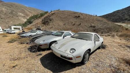 Porsche 298 Abandonados En California 1