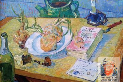 Saborea el Año Van Gogh 2015 con menús inspirados en su arte