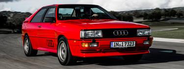 Audi quattro: así nació y se ganó la fama el icono alemán que popularizó la tracción total quattro