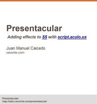 Presentacular, PowerPoint en la web