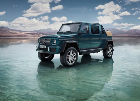 Mercedes-Maybach G650 Laundaulet: 630 hp y mas de 10 mdp