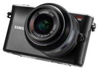 Samsung NX100, cámara sin espejo menguante