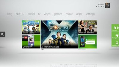 Xbox 360 se viste de Metro para llevarse mejor con Windows Phone y Kinect