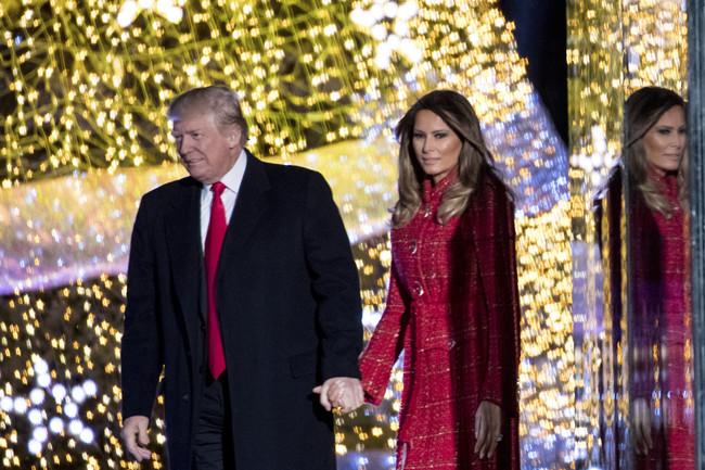felicitacion navidad trump