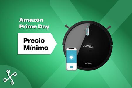 Esta Conga se controla con el móvil, friega y tiene cepillo para mascotas y solo cuesta 134 euros en el Amazon Prime Day