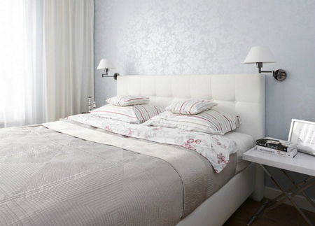 Dormitorio del apartamento de Varsovia