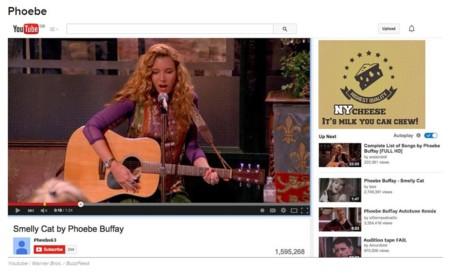 Phoebe y YouTube