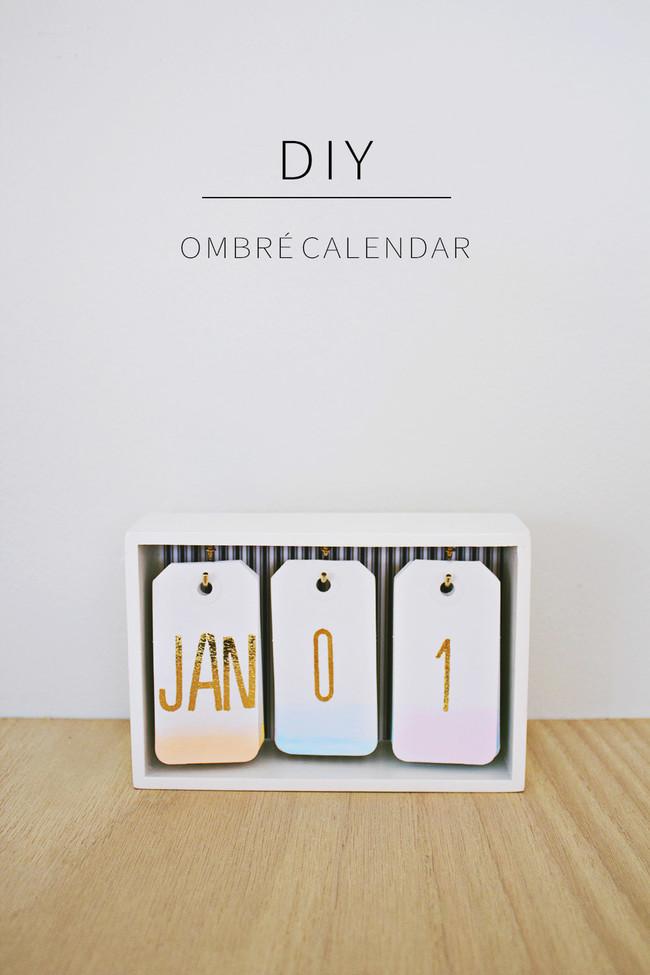 Diy Desk Calendar 12
