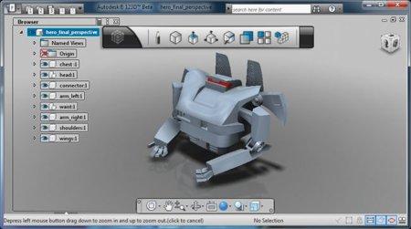 Autodesk 123D, software gratuito de modelado 3D