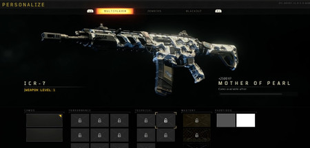 Black Ops 4 Camuflaje Madreperla