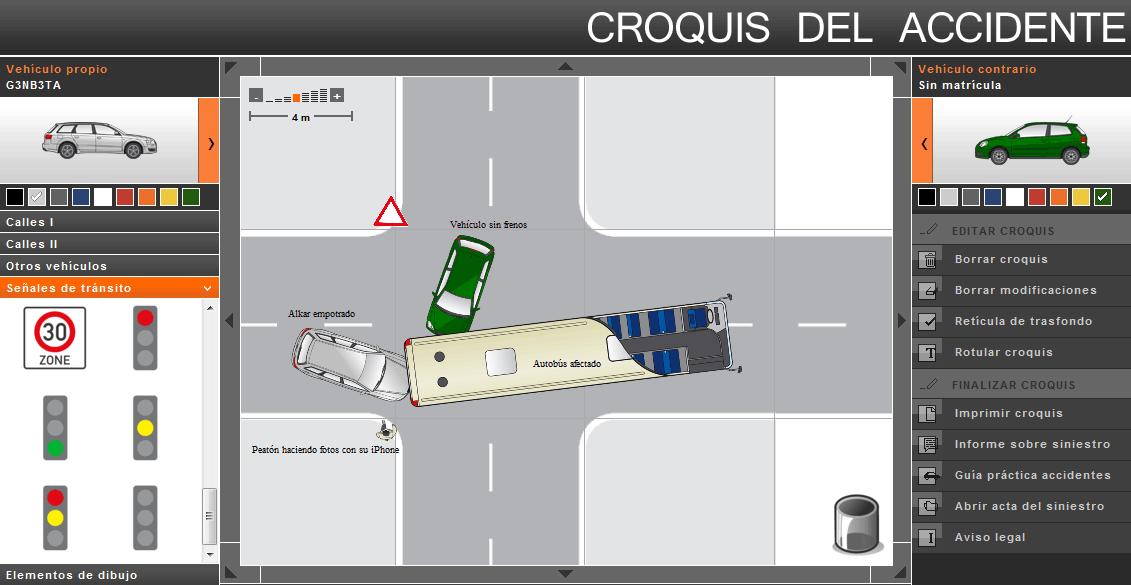 Croquis Accidentes