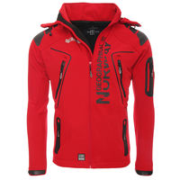 Winter is coming... con rebajas: chaqueta Geographical Norway Softshell en rojo por 39,95 euros en Amazon