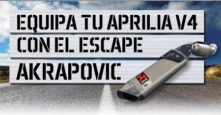 Aprilia V4 Akrapovic