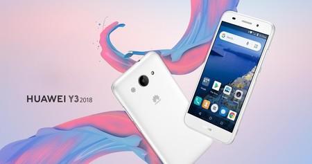 Huawei Y3 2018: el primer Android GO del fabricante chino llega orientado al mercado africano