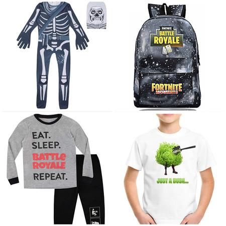 Fortnite también en la ropa, 13 prendas y accesorios para que los peques dejen claro cual es su juego preferido