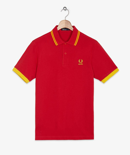Fred Perry Spain polos mundial 2014