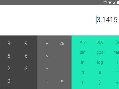 Calculadora de Google 7.3: ahora con cursor de texto para editar, nuevo icono y más