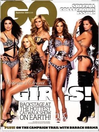 Victoria's Secret  presta a sus chicas para GQ