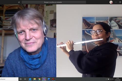 Cuando el reto de la educación a distancia forzada supone reinventarse: el ejemplo de la Escuela Superior de Música Reina Sofía