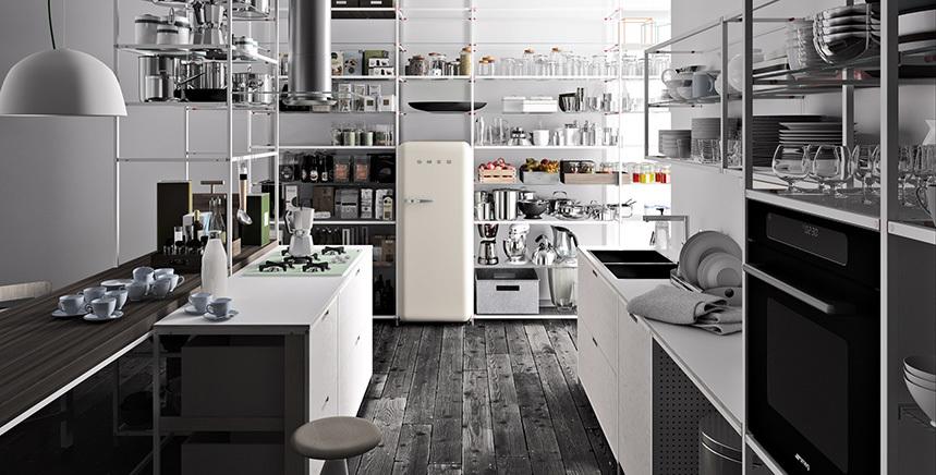 Foto de Meccanica, un sistema de almacenaje muy versátil y minimalista (9/21)