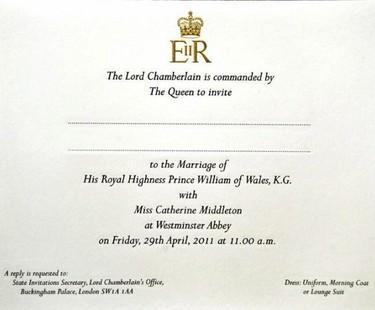 Si estuvieras invitado a la boda del Príncipe Guillermo y Kate Middelton, deberías llevar chaqué y chistera