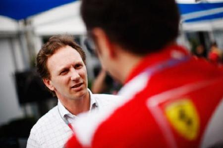 Christian Horner se reunió con la directiva de Ferrari en Maranello