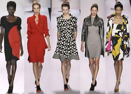 Diane von Furstenberg en la Semana de Nueva York Otoño-Invierno 2007/2008