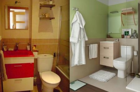 Plan cambio de baño: 7 antes y después que te sorprenderán