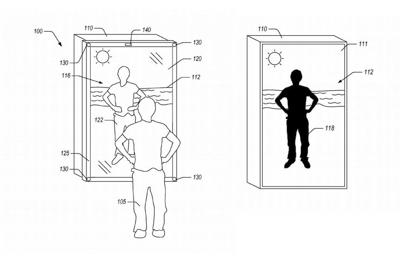 """Amazon nos quiere vestir virtualmente por medio de un espejo """"inteligente"""" que también nos dejaría comprar ropa"""